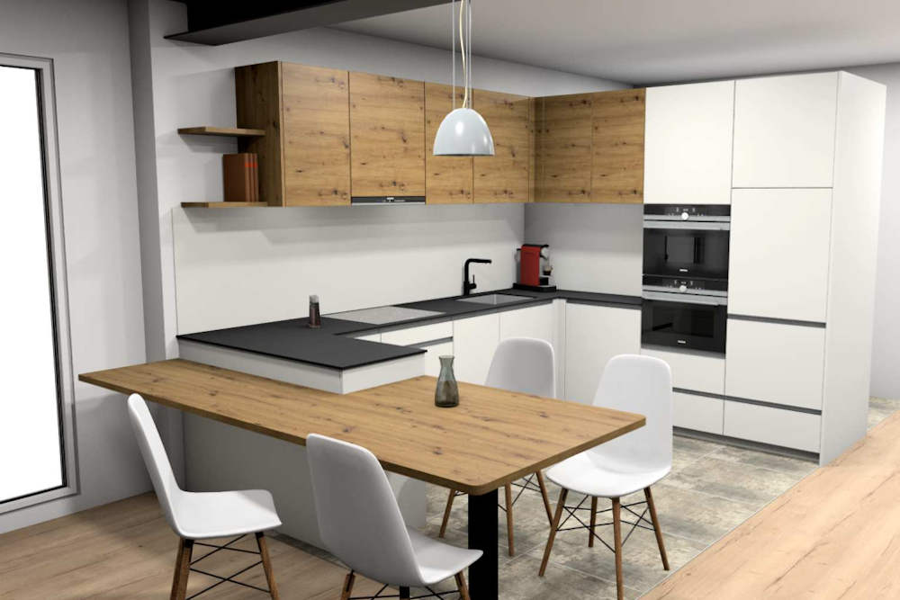 fotorealistische Küchenplanung